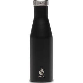 MIZU S4 Insulated Bottle 400ml with Stainless Steel Cap, noir